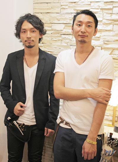 丸山祐太さんと笠井智博さん
