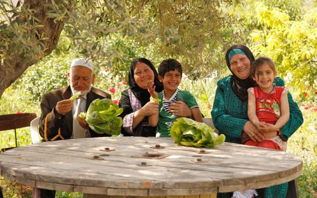 パレスチナ農家の皆さん