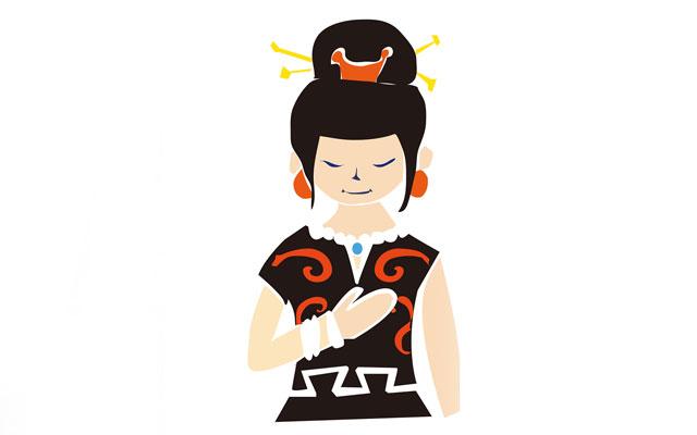 縄文時代の女性の髪型と服装