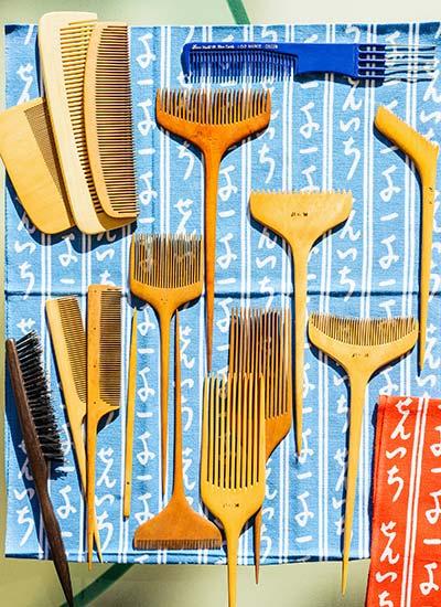 有名美容師の道具HISTORY