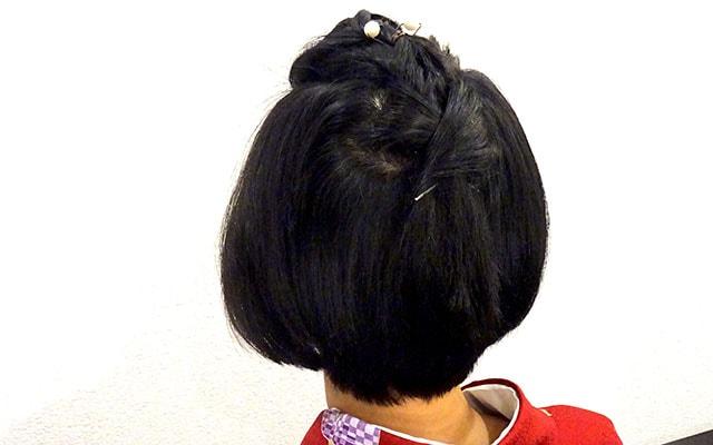美容師なら知っておきたい、いまどきの着物ヘア!ショートボブ編