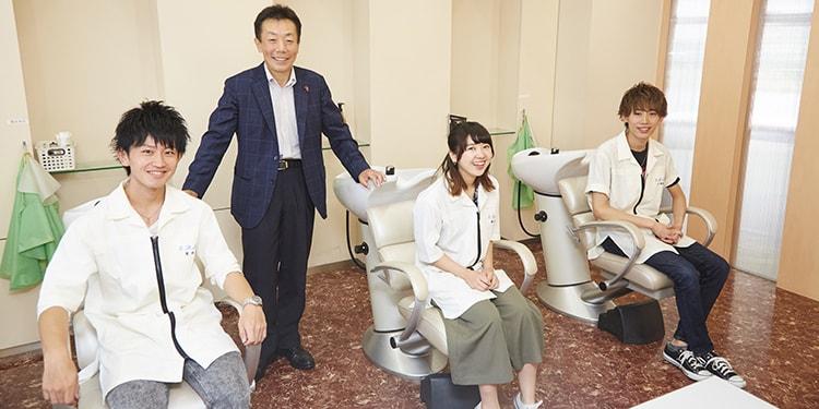 ハイレベルな美容師を多数輩出! 千葉美容専門学校