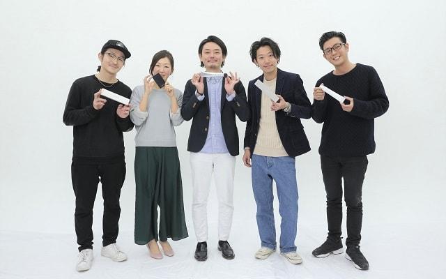 樺井さん、堀さん、木村さんを挟んで堀之内さん、飯田さん