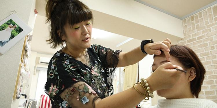 その場で勝負のヘアアレンジの世界『Beauty Salon nagomi』