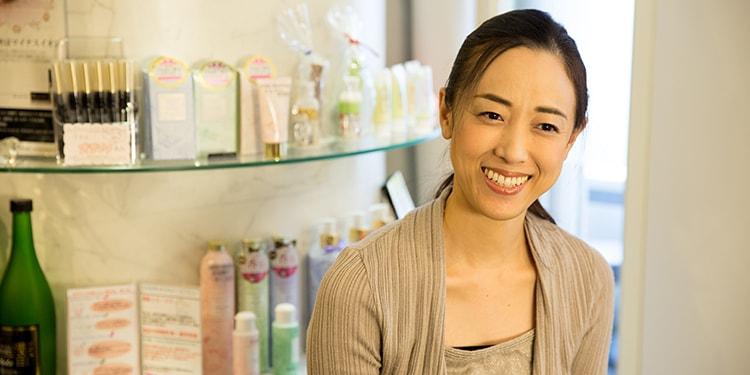 女性経営者として軽やかに業界を牽引『ANDRUCHE』