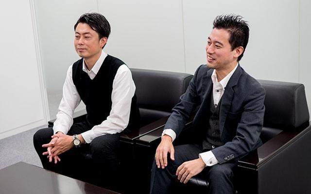 加藤さん、山崎さん