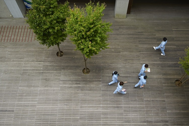 明るい校風と綺麗な校舎はモチベーションアップに! 神奈川衛生学園専門学校